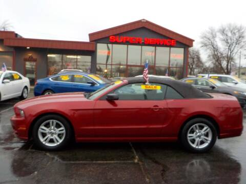 2013 Ford Mustang for sale at Super Service Used Cars in Milwaukee WI