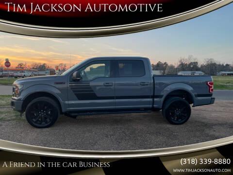 2019 Ford F-150 for sale at Tim Jackson Automotive in Jonesville LA