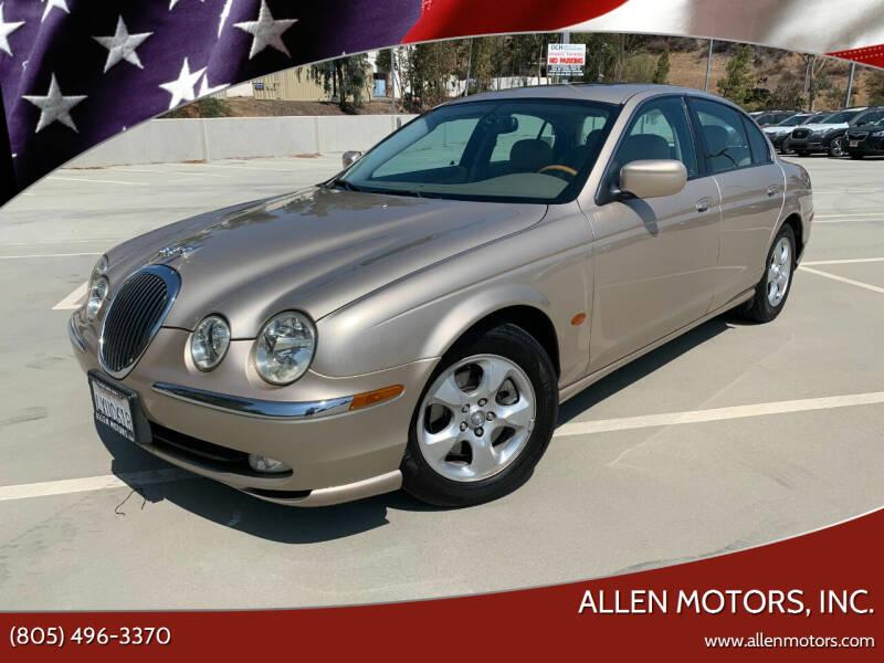 2002 Jaguar S-Type for sale at Allen Motors, Inc. in Thousand Oaks CA