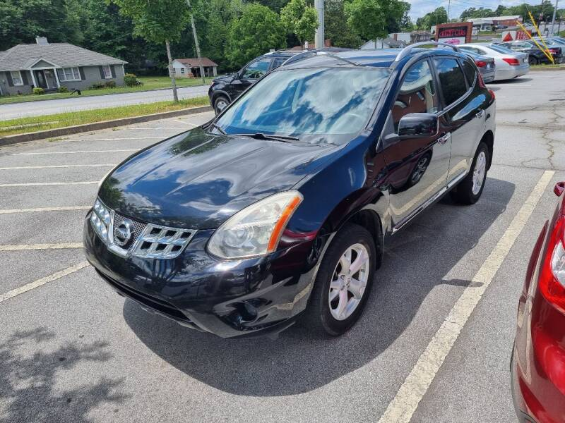 2011 Nissan Rogue for sale at Credit Cars LLC in Lawrenceville GA
