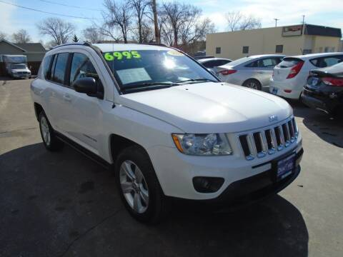 2011 Jeep Compass for sale at DISCOVER AUTO SALES in Racine WI