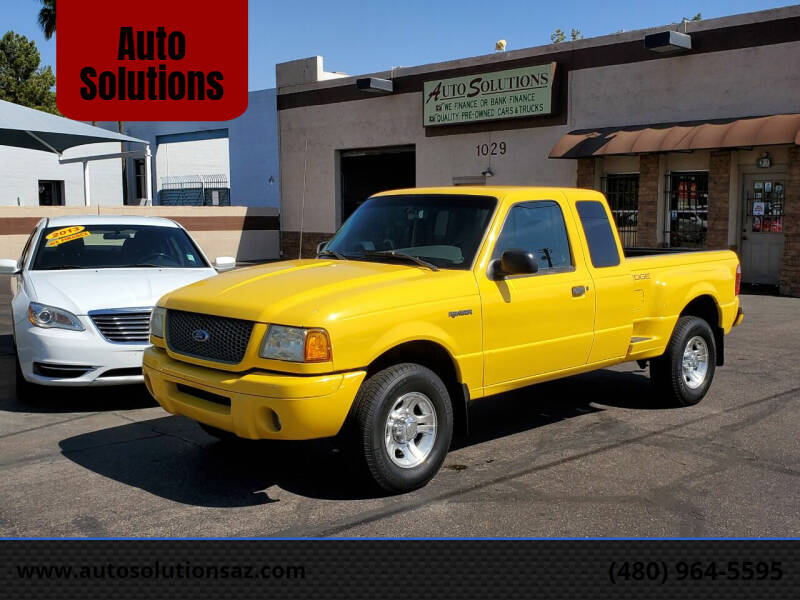 2002 Ford Ranger for sale at Auto Solutions in Mesa AZ
