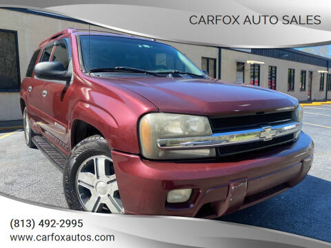 2004 Chevrolet TrailBlazer EXT for sale at Carfox Auto Sales in Tampa FL