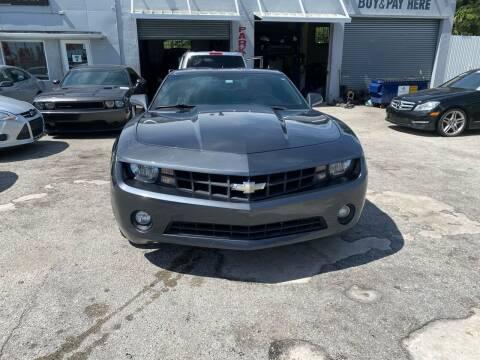 2011 Chevrolet Camaro for sale at America Auto Wholesale Inc in Miami FL