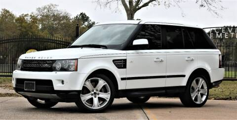 2012 Land Rover Range Rover Sport for sale at Texas Auto Corporation in Houston TX