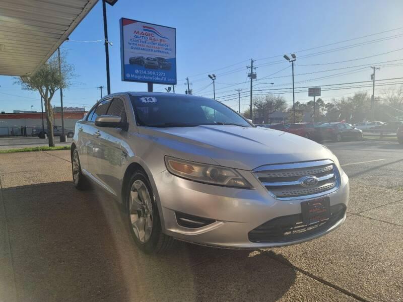 2014 Ford Taurus for sale at Magic Auto Sales - Cash Cars in Dallas TX