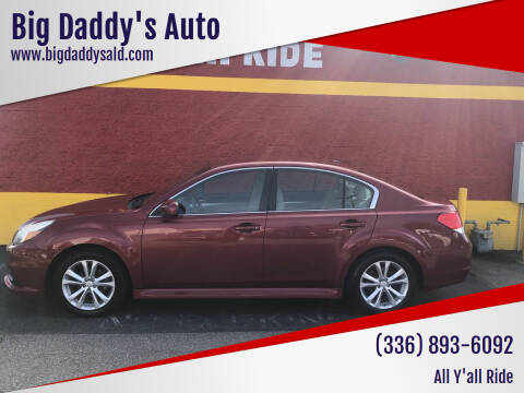 2014 Subaru Legacy for sale at Big Daddy's Auto in Winston-Salem NC