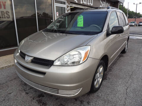 2004 Toyota Sienna for sale at Arko Auto Sales in Eastlake OH