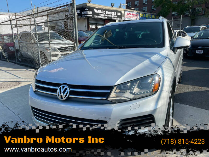 2012 Volkswagen Touareg for sale in Staten Island, NY