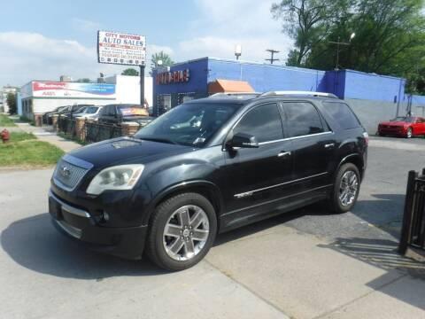 2011 GMC Acadia for sale at City Motors Auto Sale LLC in Redford MI