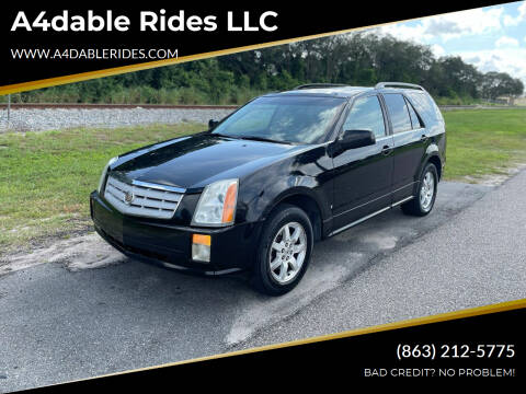 2008 Cadillac SRX for sale at A4dable Rides LLC in Haines City FL