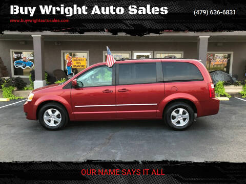2008 Dodge Grand Caravan for sale at Buy Wright Auto Sales in Rogers AR