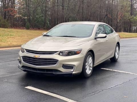 2016 Chevrolet Malibu for sale at Top Notch Luxury Motors in Decatur GA