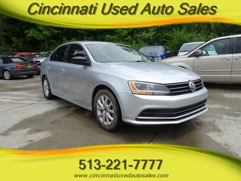 2015 Volkswagen Jetta for sale at Cincinnati Used Auto Sales in Cincinnati OH