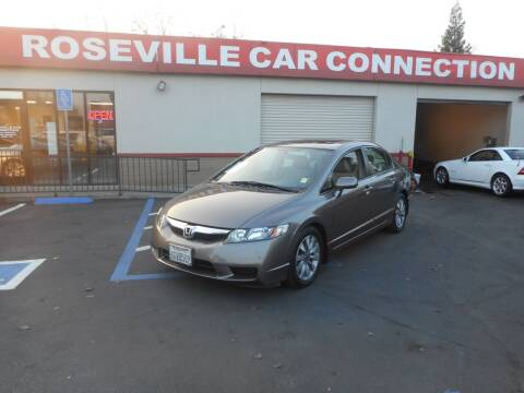 2009 Honda Civic for sale at ROSEVILLE CAR CONNECTION in Roseville CA