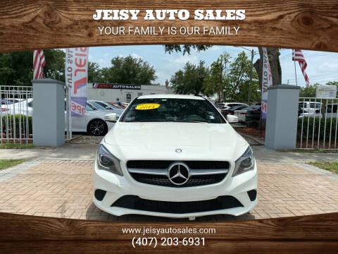 2014 Mercedes-Benz CLA for sale at JEISY AUTO SALES in Orlando FL