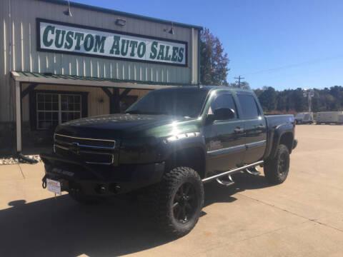 2013 Chevrolet Silverado 1500 for sale at Custom Auto Sales - AUTOS in Longview TX