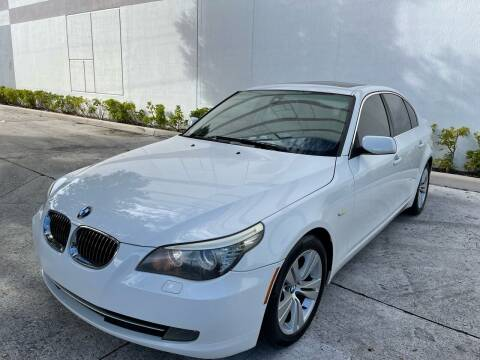 2009 BMW 5 Series for sale at Auto Beast in Fort Lauderdale FL