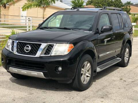 2008 Nissan Pathfinder for sale at CARSTRADA in Hollywood FL
