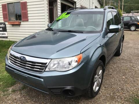 2010 Subaru Forester for sale at Richard C Peck Auto Sales in Wellsville NY