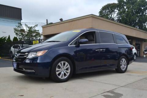 2016 Honda Odyssey for sale at Father and Son Auto Lynbrook in Lynbrook NY