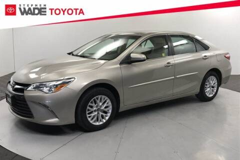 2017 Toyota Camry for sale at Stephen Wade Pre-Owned Supercenter in Saint George UT