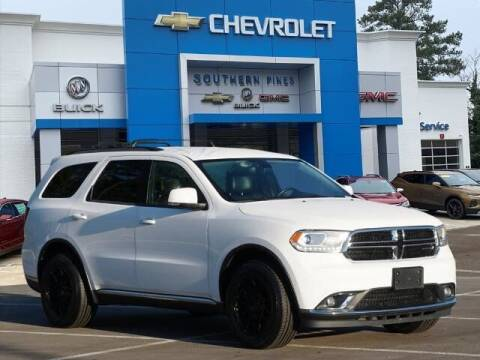2016 Dodge Durango for sale at PHIL SMITH AUTOMOTIVE GROUP - SOUTHERN PINES GM in Southern Pines NC
