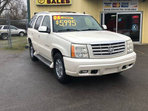 2006 Cadillac Escalade for sale at Mr. G's Auto Sales in Shelbyville TN