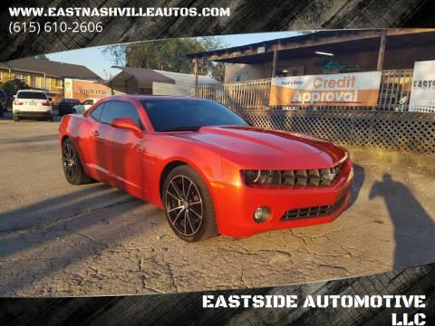 2012 Chevrolet Camaro for sale at EASTSIDE AUTOMOTIVE LLC in Nashville TN