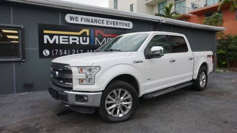 2015 Ford F-350 Super Duty for sale at Meru Motors in Hollywood FL
