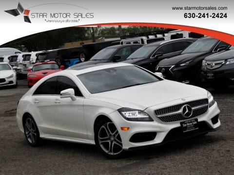 2015 Mercedes-Benz CLS for sale at Star Motor Sales in Downers Grove IL