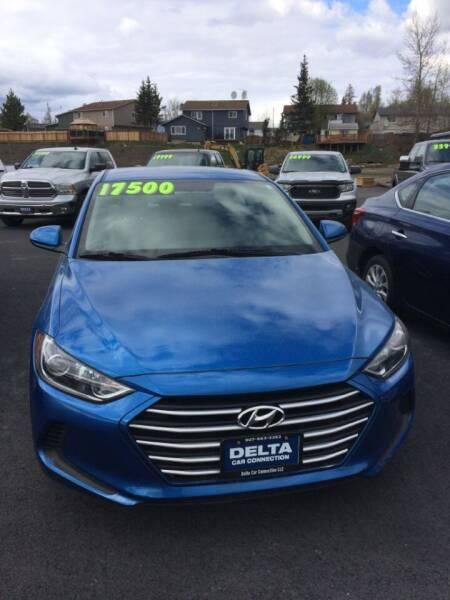 2018 Hyundai Elantra for sale at Delta Car Connection LLC in Anchorage AK