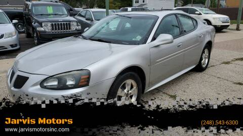 2006 Pontiac Grand Prix for sale at Jarvis Motors in Hazel Park MI