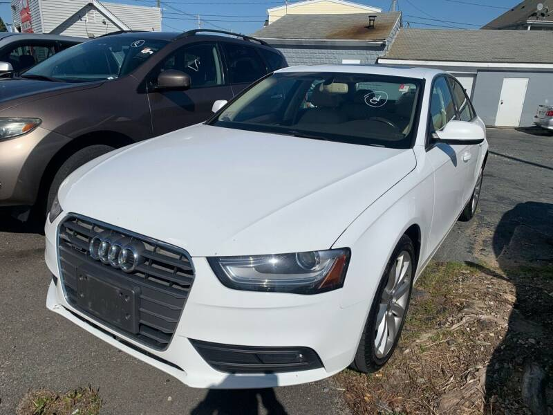 2013 Audi A4 for sale at Better Auto in South Darthmouth MA