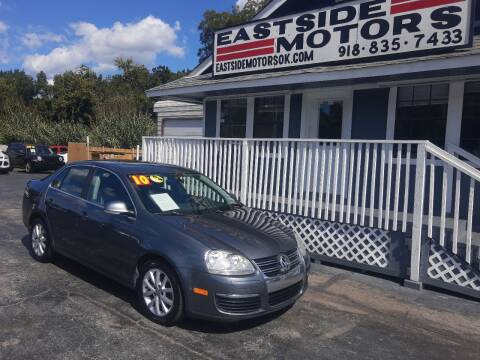 2010 Volkswagen Jetta for sale at EASTSIDE MOTORS in Tulsa OK