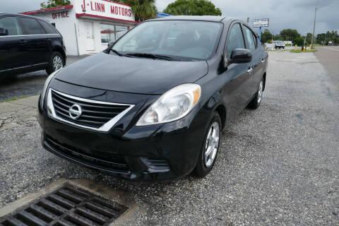 2014 Nissan Versa for sale at J Linn Motors in Clearwater FL
