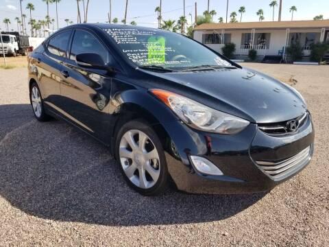 2013 Hyundai Elantra for sale at 48TH STATE AUTOMOTIVE in Mesa AZ
