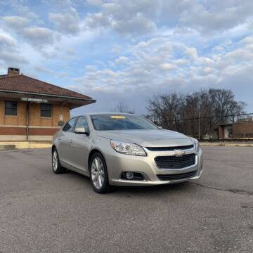 2014 Chevrolet Malibu for sale at FIRST CLASS AUTO SALES in Bessemer AL