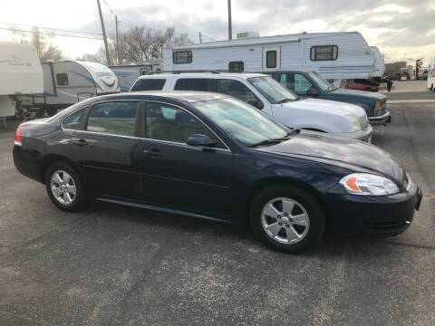 2011 Chevrolet Impala for sale at STEVE'S AUTO SALES INC in Scottsbluff NE