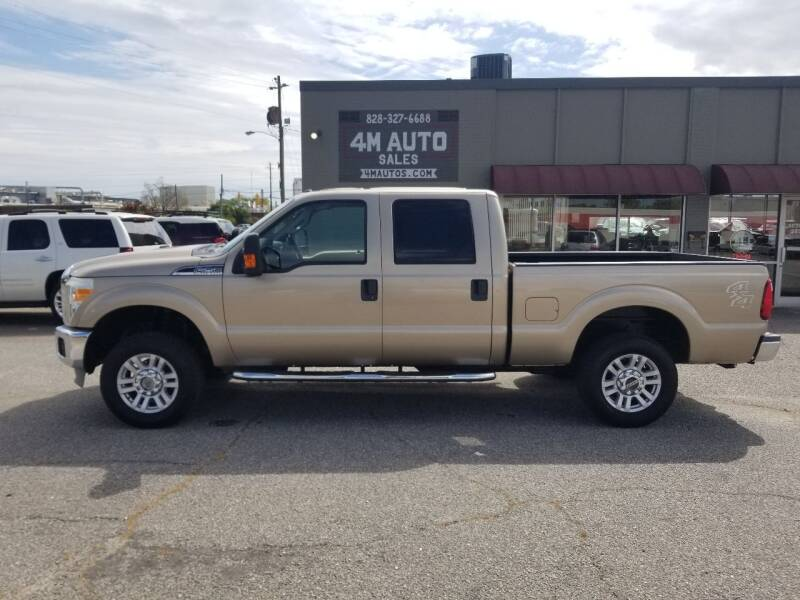 2011 Ford F-250 Super Duty for sale at 4M Auto Sales | 828-327-6688 | 4Mautos.com in Hickory NC