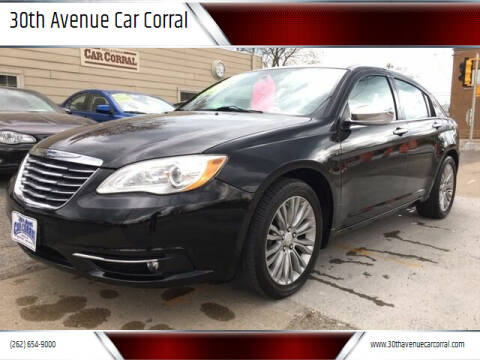 2012 Chrysler 200 for sale at 30th Avenue Car Corral in Kenosha WI