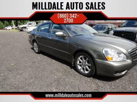 2005 Infiniti Q45 for sale at MILLDALE AUTO SALES in Portland CT