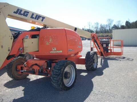 2011 JLG 4x4 600AJ Skypower Boom Lift for sale at Classics Truck and Equipment Sales in Cadiz KY