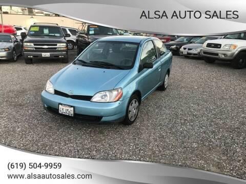 2002 Toyota ECHO for sale at ALSA Auto Sales in El Cajon CA