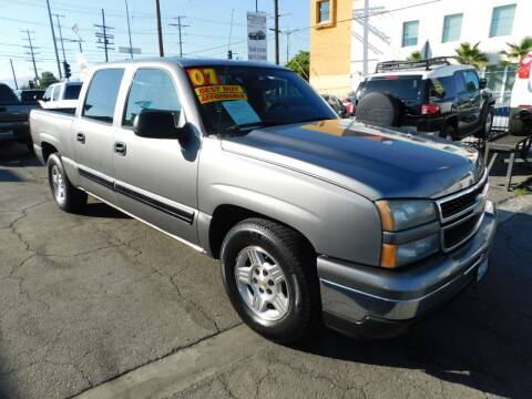 2007 Chevrolet Silverado 1500 Classic for sale at Williams Auto Mart Inc in Pacoima CA