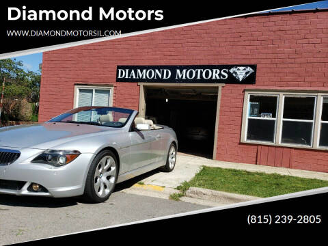 2005 BMW 6 Series for sale at Diamond Motors in Pecatonica IL
