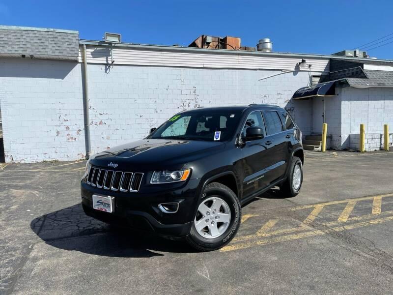 2015 Jeep Grand Cherokee for sale at Santa Motors Inc in Rochester NY