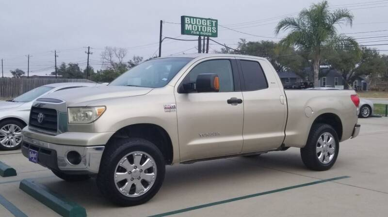 2007 Toyota Tundra for sale at Budget Motors in Aransas Pass TX
