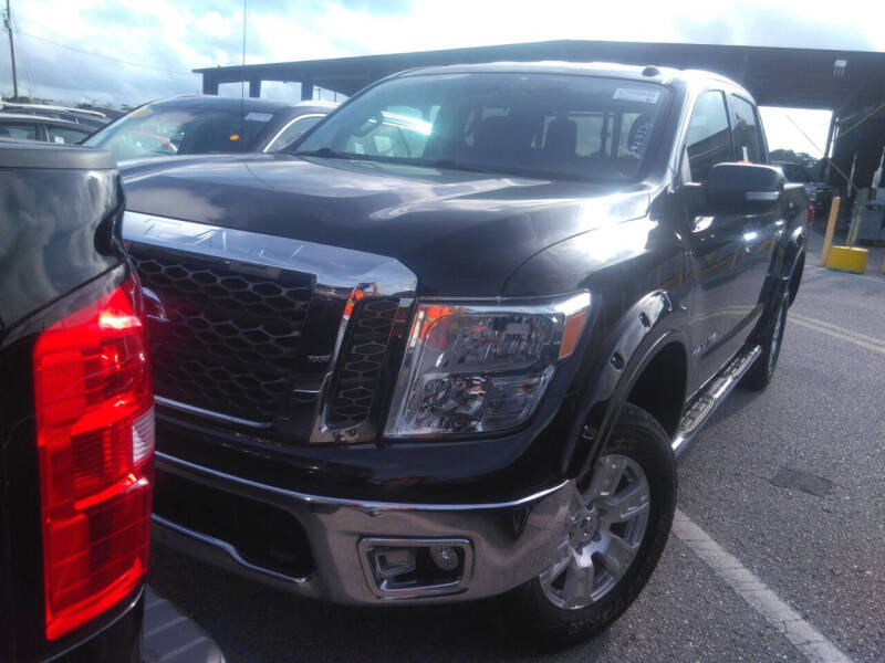 2018 Nissan Titan for sale at MG Auto Center LP in Lake Park FL