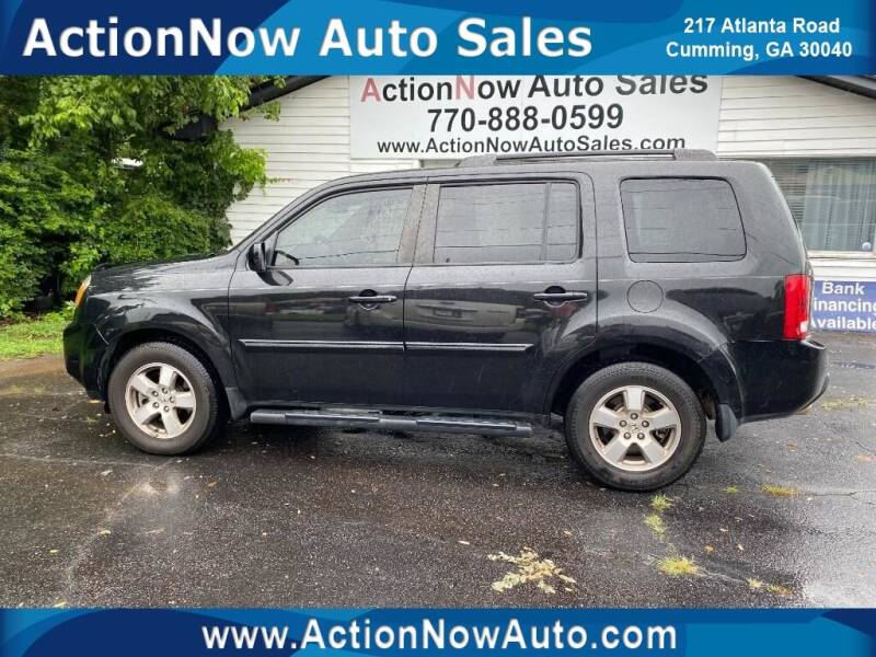 2011 Honda Pilot for sale at ACTION NOW AUTO SALES in Cumming GA